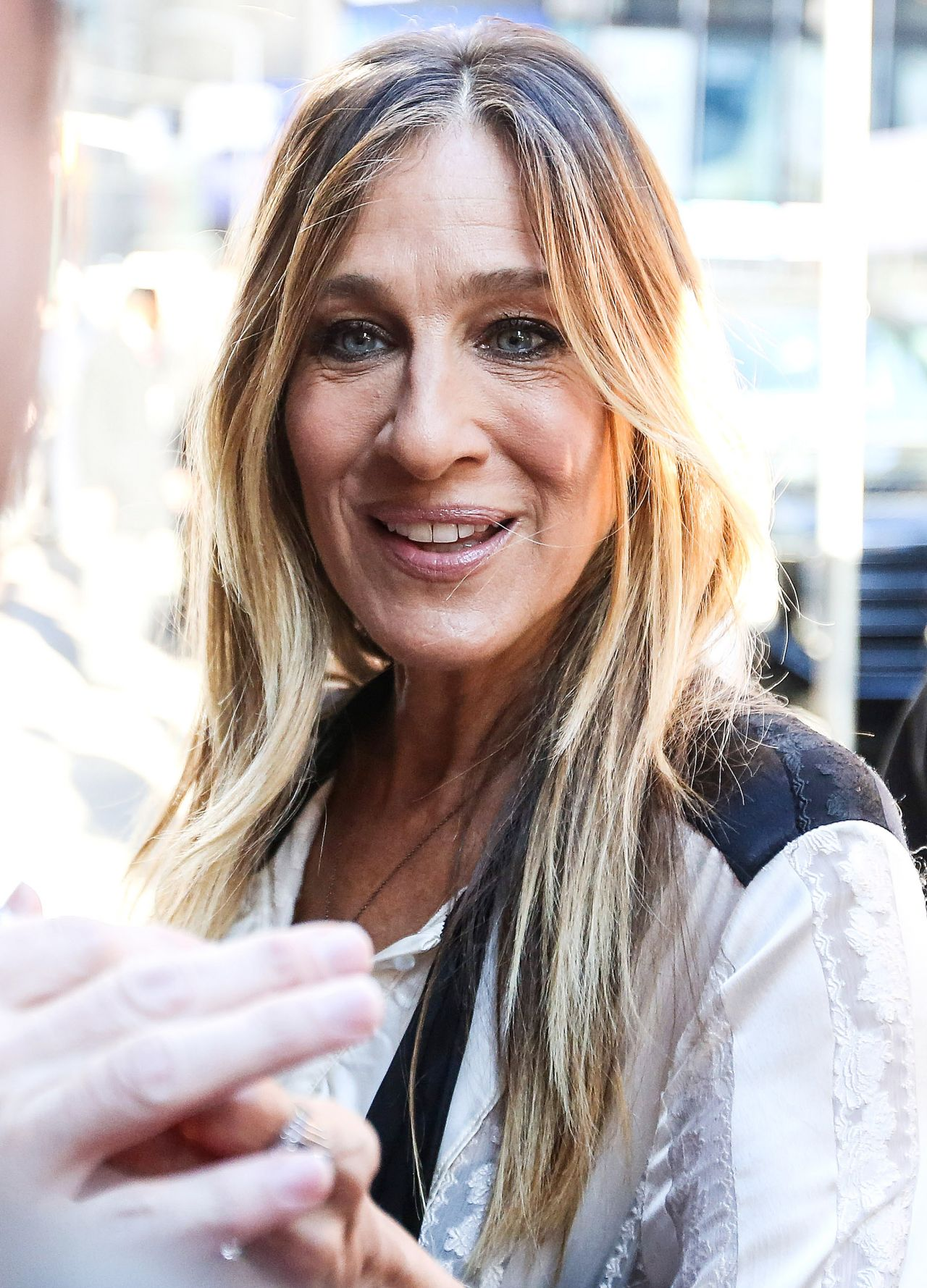 Sarah Jessica Parker At Gma In New York City 10 4 2016