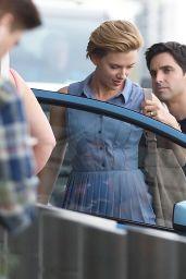 Scarlett Johansson - Filming