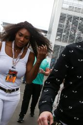 Serena Williams - F1 Mexican Grand Prix Race in Mexico City 30/10/ 2016