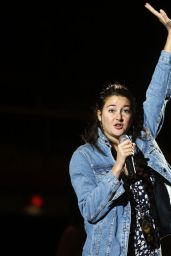 Shailene Woodley - Speaks During the Black Hills Powwow Youth Day Symposium at the Rushmore Plaza Civic Center 10/7/2016