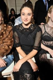 Shailene Woodley - Valentino Show at Paris Fashion Week 10/2/2016