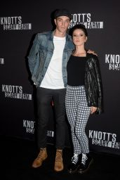 Shenae Grimes – Knott's Scary Farm Opening Night in Buena Park, CA 9/30/2016