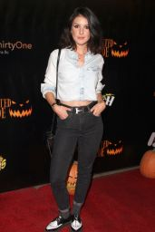 Shenae Grimes - Los Angeles Haunted Hayride in Los Feliz 10/09/2016