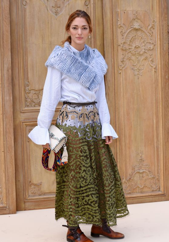 Sofia Sanchez de Betak at Valentino Show – Paris Fashion Week 10/2/2016