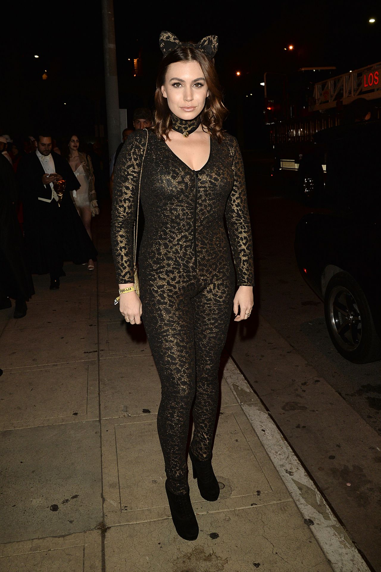 Sophie Simmons – Treats Magazine Halloween Party in Los ...