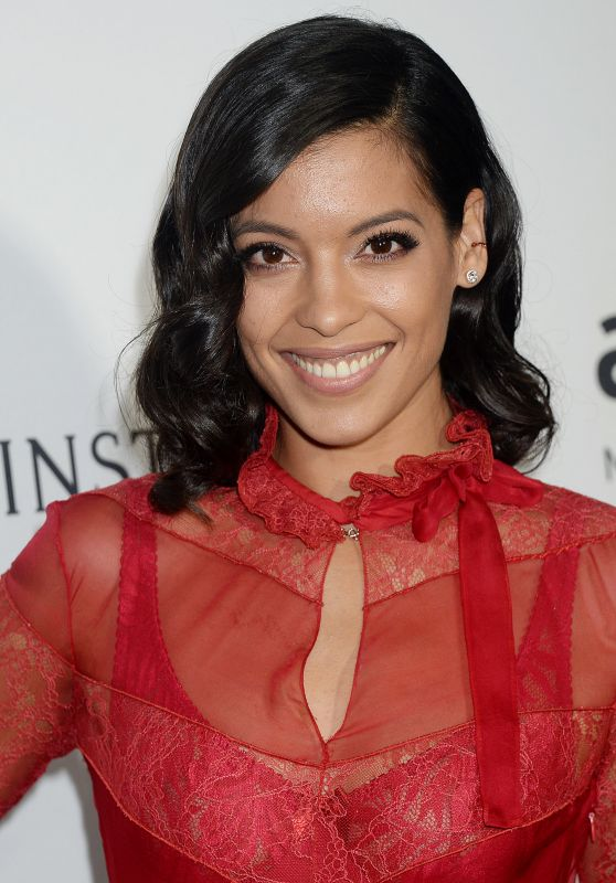 Stephanie Sigman – 2016 amfAR Inspiration Gala at Milk Studios in Los Angeles