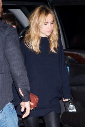 Suki Waterhouse at a Kings of Leon Concert in NYC 10/1220/16
