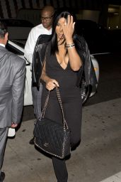 Tamar Braxton - Arriving for Dinner at