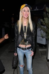 Tara Reid at Catch in West Hollywood 10/26/ 2016