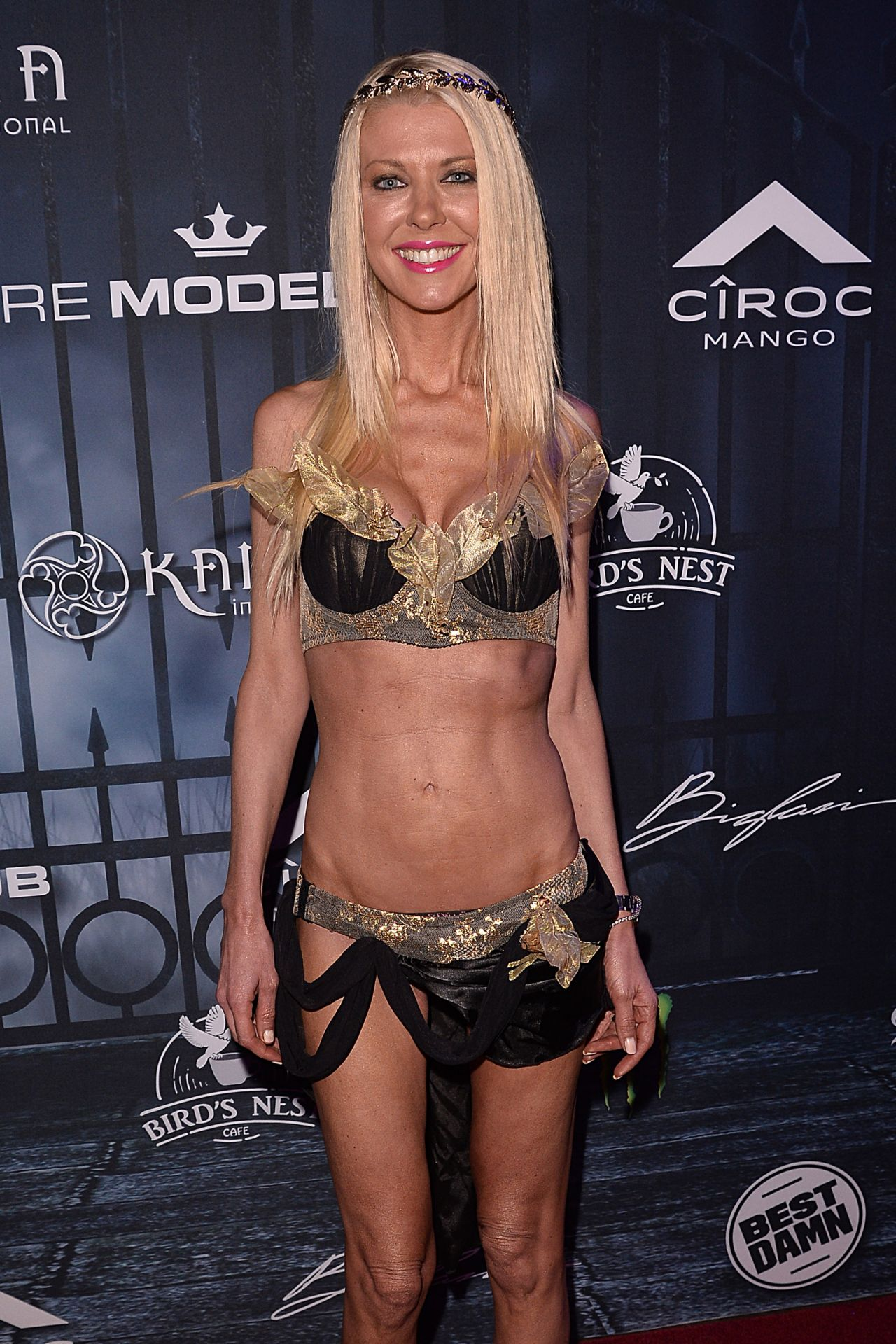 Tara Reid Maxim Halloween Party In Los Angeles 10 22 2016