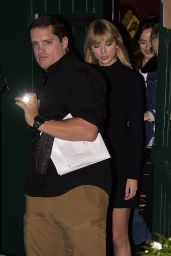 Taylor Swift - Leaving the Waverly Inn Restaurant in New York City 10/11/2016