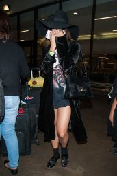 Vanessa Hudgens at LAX Airport in Los Angeles 10/3/2016
