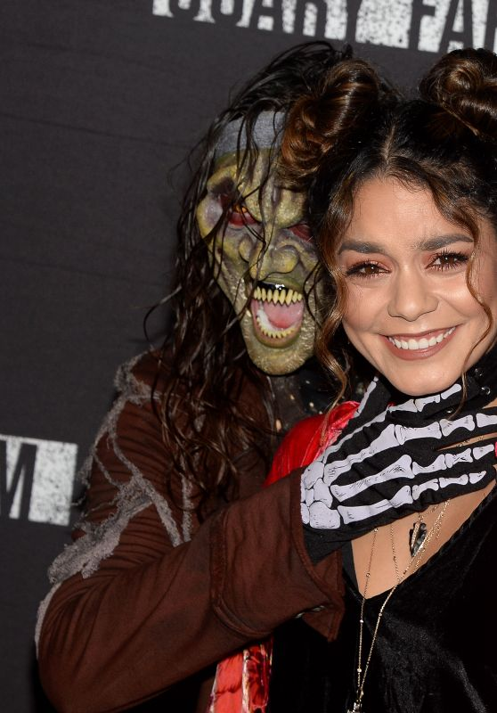 Vanessa Hudgens - Knott's Scary Farm Opening Night in Buena Park, CA 9/30/ 2016