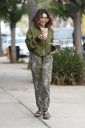 Vanessa Hudgens - Leaving a Yoga Class in Los Angeles 10/15/ 2016