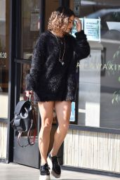 Vanessa Hudgens - Stops By A Nail Salon in Studio City 10/24/ 2016