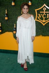 Vanessa Hudgens – Veuve Clicquot Polo Classic in Los Angeles 10/15/2016