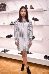 Vanessa White – Giuseppe Zanotti Design Flagship Store Opening in London 10/26/2016