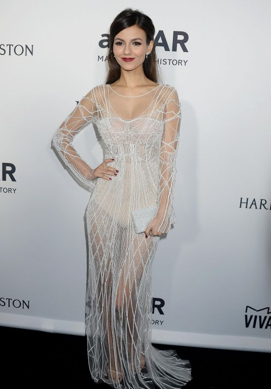 Victoria Justice - amfAR's Inspiration Gala in Hollywood 10/27/ 2016