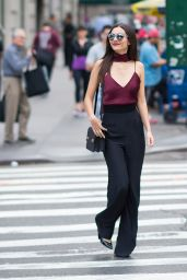 Victoria Justice in Midtown, New York City, 10/17/ 2016
