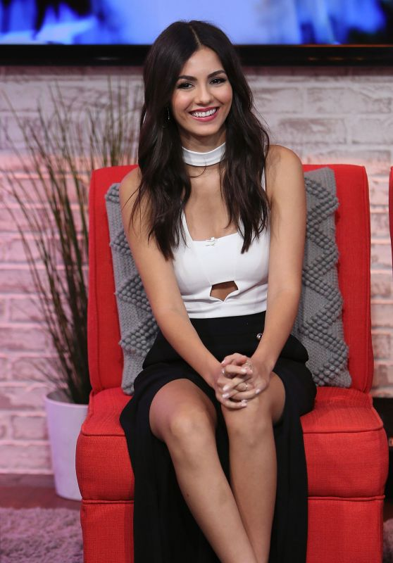 Victoria Justice - Visits 'Hollywood Today Live' in West Hollywood 10/20/2016