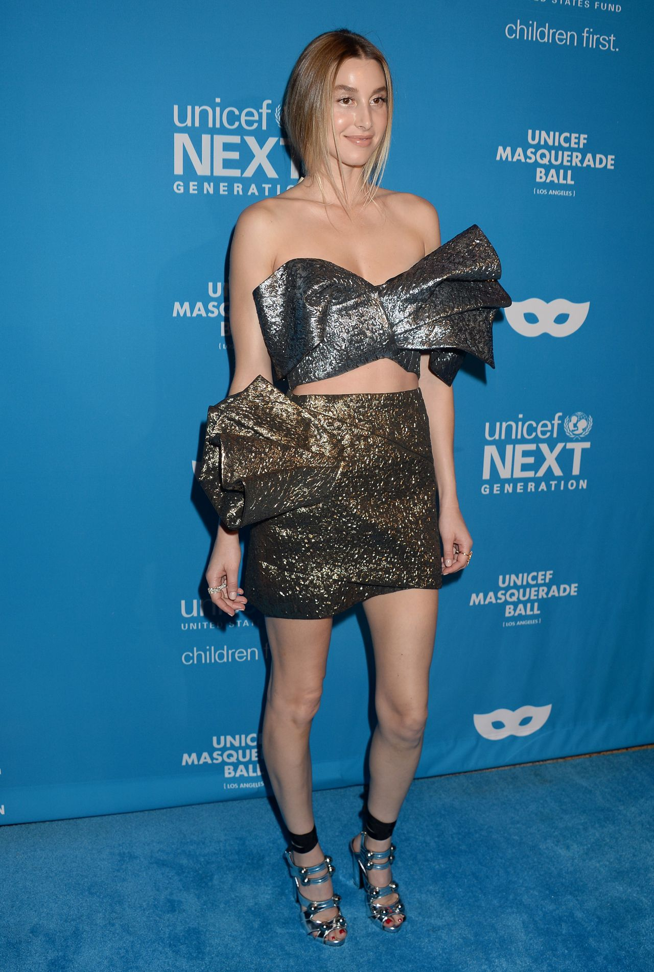 Whitney Port 2016 Unicef Masquerade Ball In Los Angeles