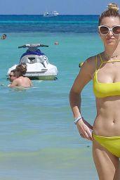 Whitney Port in Yellow Bikini - Cancun, October 2016