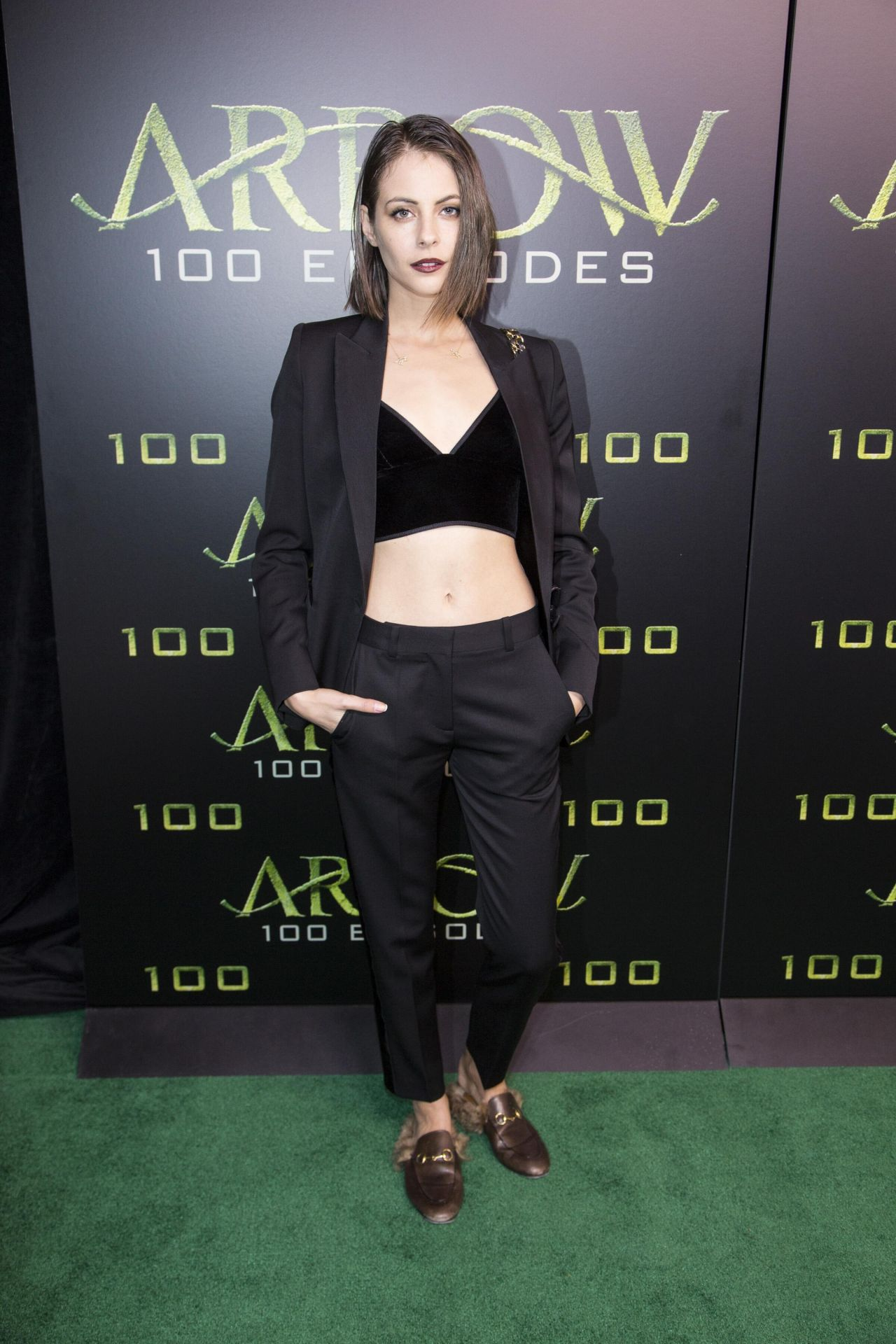 Willa Holland Celebration Of 100th Episode Of Arrow In