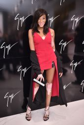 Winnie Harlow – Giuseppe Zanotti Design Flagship Store Opening in London 10/26/2016
