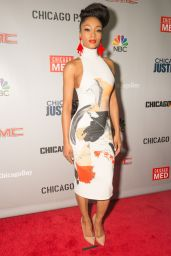 Yaya DaCosta – 'Dick Wolf Kick-Off Party' in Chicago 10/24/2016