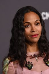 Zoe Saldana - LACMA Art and Film Gala in Los Angeles