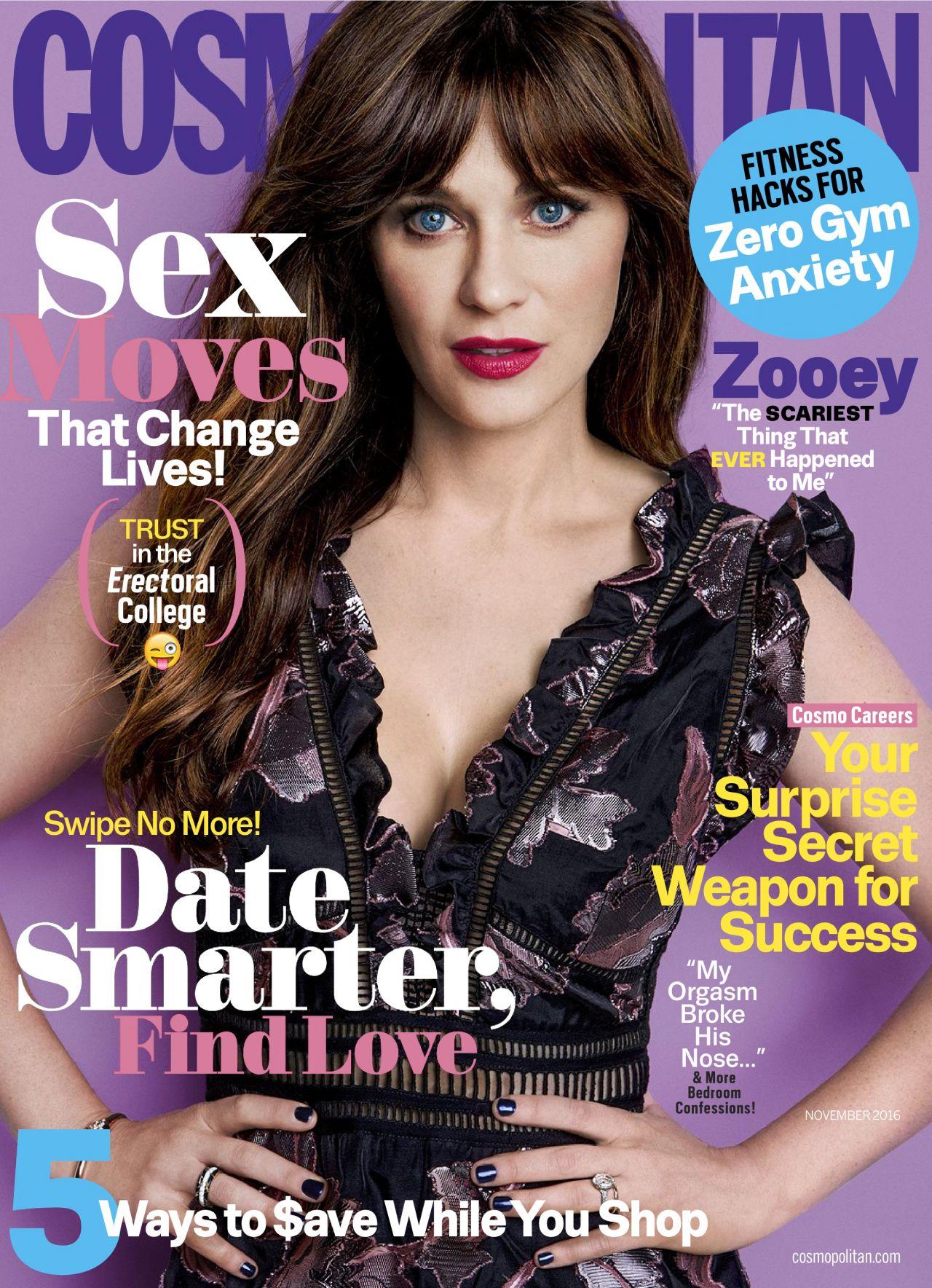 Cosmopolitan Magazine November 2016 Issue