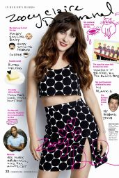 Zooey Deschanel - Cosmopolitan Magazine November 2016 Issue