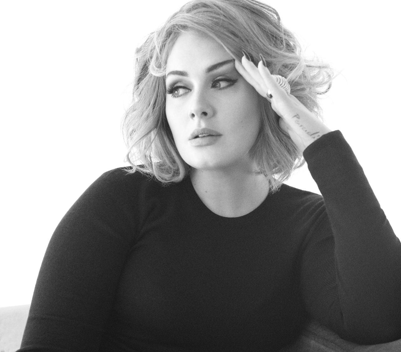 Celebrities Trands Adele Vanity Fair Magazine USA