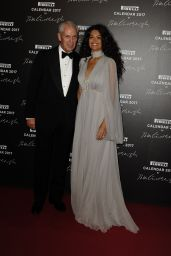 Afef Jnifen - Pirelli Calendar 2017 Gala Dinner in Paris