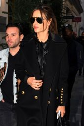 Alessandra Ambrosio - Shopping in Paris 11/29/ 2016