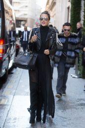 Alessandra Ambrosio Style - Paris 11/28/ 2016