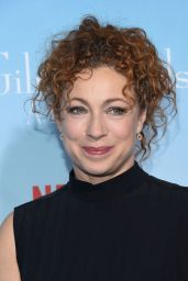 Alex Kingston – 'Gilmore Girls: A Year in The Life' TV Series Premiere in Los Angeles