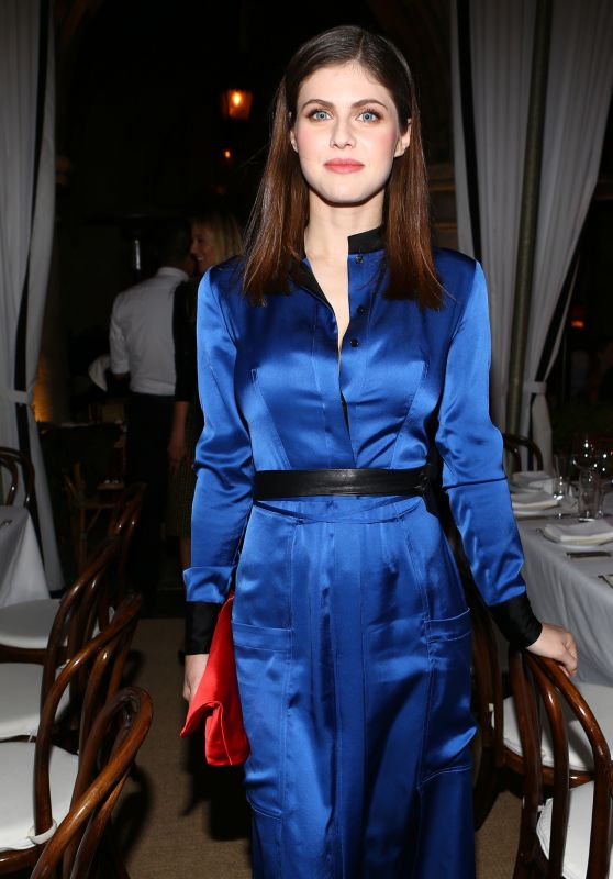 Alexandra Daddario - DVF Dinner in Los Angeles 11/10/2016