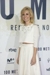 Alexandra Jiménez – '100 Metros' Premiere in Madrid 11/2/ 2016