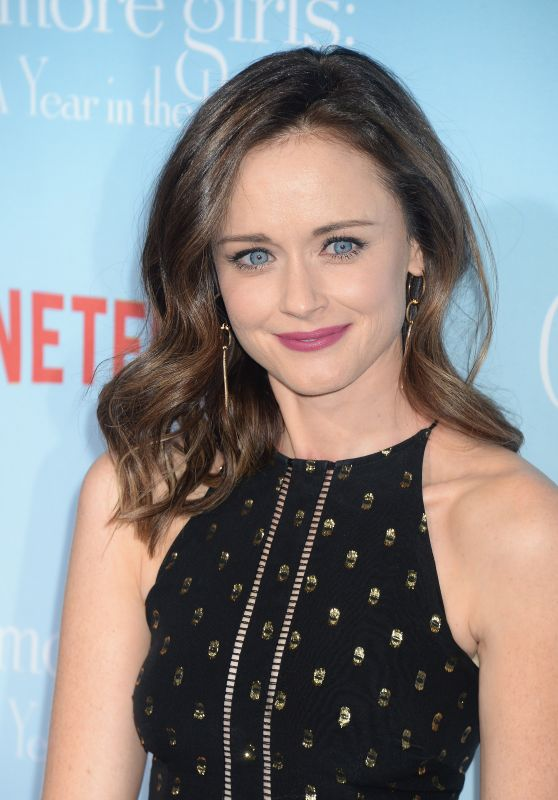 Alexis Bledel Gilmore Girls A Year In The Life