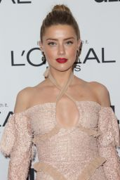 Amber Heard – Glamour Women Of The Year Awards in Los Angeles 11/14/ 2016
