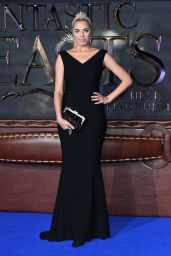 Amber Le Bon – 'Fantastic Beasts and Where To Find Them' Film Premiere in London