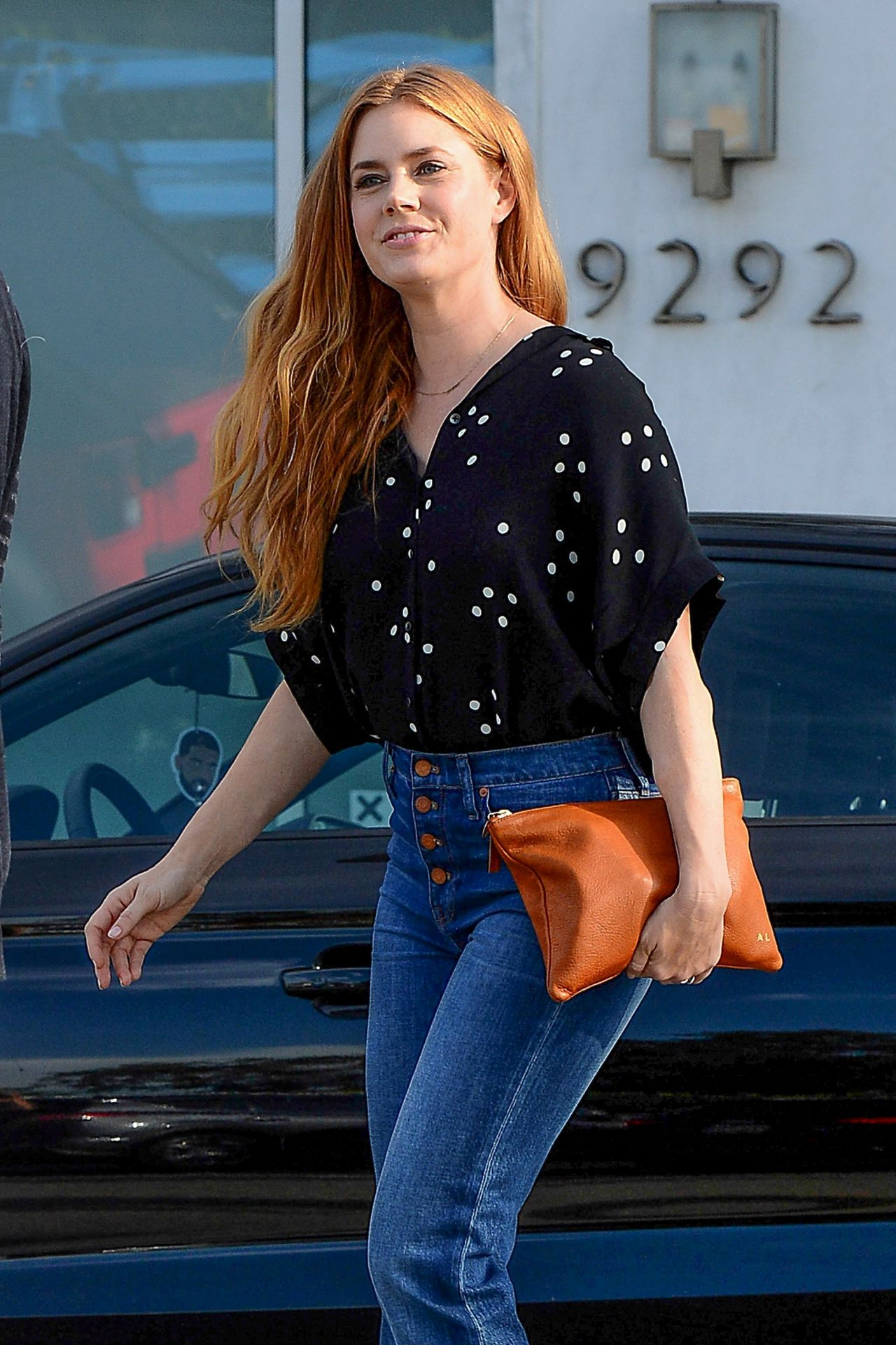 Amy Adams In Jeans Los Angeles 11 15 2016