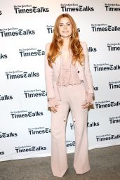 Amy Adams - TimesTalks Discusses Arrival in New York City 11/9/2016
