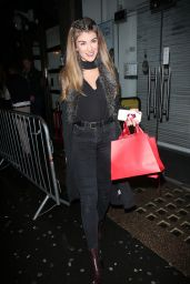 Amy Willerton Arriving to the SPORTFX Cosmetic and Sports Launch Party in London, November 2016