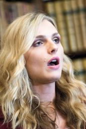 Andreja Pejic at the Oxford Union, UK 11/7/2016