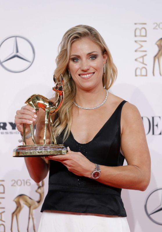 Angelique Kerber - Bambi Media Awards 2016 in Berlin