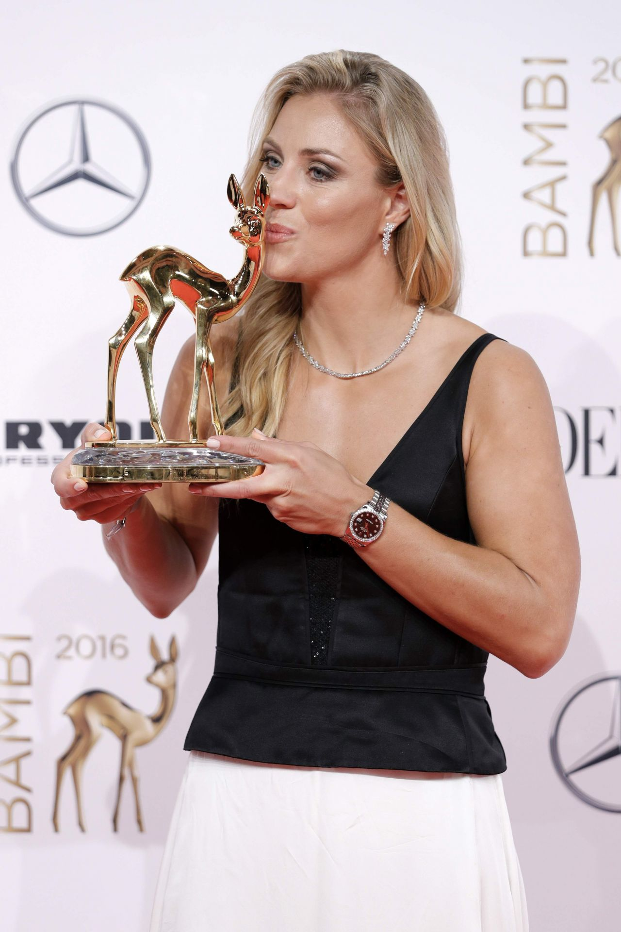 Angelique Kerber Bambi Media Awards 2016 In Berlin
