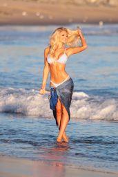 Anna Katharina Bikini Photos - Editorial Feature for 138 Water in Malibu Beach, November 2016