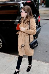 Anna Kendrick - Out in Downtown Manhatttan, NY 11/14/ 2016